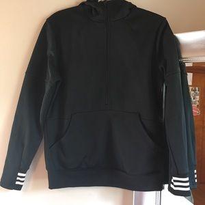 Adidas fleeced lined jacket